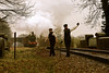'Lineside' (andrew_@oxford) Tags: bluebell railway lineside permanent way reenactors reenactment timeline events