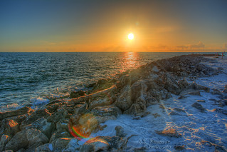 Gulf of Mexico Sunset - Clearwater Beach, Florida