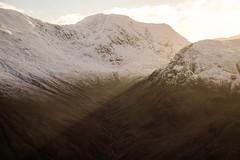 Sgùrr na h-Ulaidh Sunset (Russell-Davies) Tags: snow winter sunset light munro sgùrrnahulaidh canon 6dmkii glen uk scotland highlands hiking ballachulish glencoe lochaber argyll