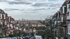 Cityscape view (PhredKH) Tags: 2470mm canoneos5dmkiii canonphotography cityview cityscape ef2470mmf4lisusm fredkh london londonstreets muswellhill northlondon photosbyphredkh phredkh splendid clouds outdoorphotography outdoors sky street city tree water building overcast