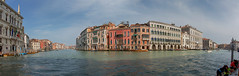 Canal grande - View from Ca' Foscari (pe_ha45) Tags: venice venise venezia venedig cafoscari universityofvenice palace palast canalgrande mittelmeer mediterraneansea italy italien serenissima