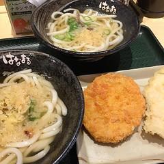 ランチなう… #はなまるうどん #天ぷら定期券 (lefty1007) Tags: ifttt instagram