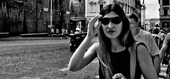 Your not seeing things!! (Baz 120) Tags: candid candidstreet candidportrait city candidface candidphotography contrast street streetphoto streetphotography streetcandid streetportrait sony a7 fullframe rome roma romepeople romestreets europe women monochrome mono monotone noiretblanc bw blackandwhite urban life primelens portrait people pentax20mm28 italy italia girl grittystreetphotography faces decisivemoment strangers
