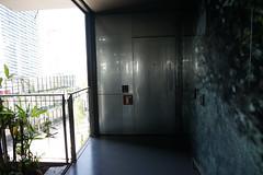 2018-04-FL-183513 (acme london) Tags: barcelona corridor door escapedoor fira fireescape galvanisedsteel hotel jeannouvel renaissancehotelfira spain staricase