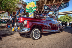 1947 chevy fleetline (pixel fixel) Tags: 1947 chevrolet chicanopark fleetline red sandiego tweakedpixels ©2018kathygonzalez