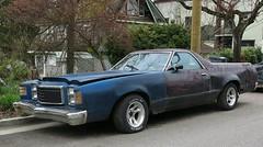 1977-79 Ford Ranchero (Custom_Cab) Tags: 1977 1978 1979 ford ranchero pickup truck pick up blue rusty junker ltd ii 2