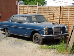 1970 Mercedes Benz 250 CE Automatic (Neil's classics) Tags: vehicle 1970 mercedes benz abandoned w114 250ce