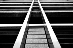 A (Dimitri G77) Tags: nikon abstract urban city architecture lines modern building perspective blackandwhite monochrome noiretblanc creative