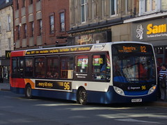 Stagecoach Midlands ADL Enviro 200 36209 KX60 LHP (Alex S. Transport Photography) Tags: bus outdoor road vehicle stagecoachmidlands stagecoachmidlandred stagecoach off route unusual adlenviro200 enviro200 e200 adldartslf4 route96branding routed2 36209 kx60lhp