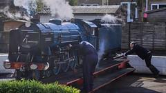 Romney, RHDR, 29th March 2018 (simage61) Tags: transportation railway rhdr romneyhytheanddymchurchrailway nannowgauge hythe kent england uk