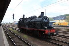78 468 te Trier HBF (vos.nathan) Tags: pruisische t18 deutsche bundesbahn db br 78 468 eisenbahntradition lengerich trier hbf hauptbahnhof