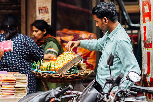 Moong Daal Street Vendor, New Delhi India