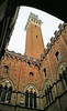 Torre del Mangia (MelindaChan ^..^) Tags: italy 意大利 chanmelmel mel melinda melindachan siena history heritage life architecture old city