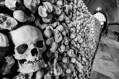 St. Leonard's Church Ossuary, Hythe, England (Aethelweard) Tags: hythe england unitedkingdom gb bones death church skull crypt dark blackandwhite kent efs1018mmf4556isstm