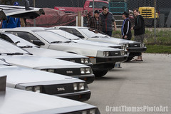 IMG_6316_result (ferrariartist) Tags: delorean gullwing stainless steel exoticcar irish bttf automotive automobile car odoc
