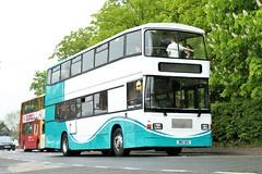 Happy Birthday LCT 67 (Scatmancraig1974) Tags: kib6708 kib 6708 e737hfw e737 hfw brz1013 brz 1013 volvo b10m d10m east lancs elcb lincoln city transport lct 67 lincolnshire roadcar lrcc 767 yorkshire traction ytc 904 hiltons travel newtonlewillows newton le willows double deck bus craig schofield wigshaw lane culcheth