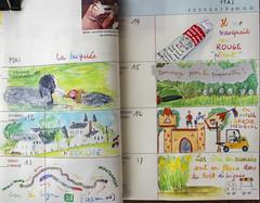 2018 en couleurs 20 (chando*) Tags: agenda crayonsaquarelle croquis diary sketch watercolorpencils