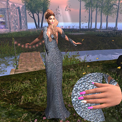 LuceMia - EVENT-CRAZY-FASHION (MISS V♛ ITALY 2015 ♛ 4th runner up MVW 2015) Tags: eventcrazyfashion secondlife sl glitter gown fashion mesh creations colors nails hallnails rose glam hud slink vista maitreya omega nailart blog beauty models lucemia