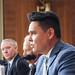 On May 9, Navajo Nation Washington Office Executive Director Jackson Brossy testified on law enforcement at the Bureau of Land Management (BLM) and the U.S. Forest Service before the Senate Subcommittee on Public Lands, Forests, and Mining on behalf of President Russell Begaye. Photo by Jared King / Navajo Nation Washington Office.