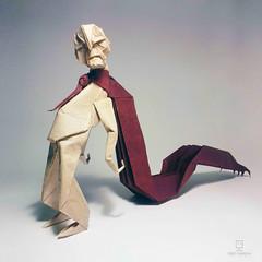 TI(E)RED_HERO (João Charrua) Tags: origami paper hero art paperart strange jaffamuseum paperheros origamiart papiroflexia illustration sculpture joaocharrua