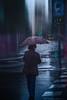 17º (Mariano Belmar Torrecilla) Tags: españa|murcia|murciac lluvia rain paraguas umbrella