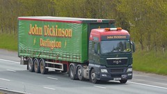 NU12 XKG (panmanstan) Tags: man tgx wagon truck lorry commercial curtainsider freight transport haulage vehicle a1m fairburn yorkshire