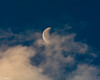 Cloudy Half Moon (that_damn_duck) Tags: lunar nikon moon cloud clouds nature dusk