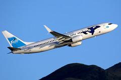 Palau Pacific Airways (Air Explore) | Boeing 737-800 | OM-KEX | Hong Kong International (Dennis HKG) Tags: airexplore ed axe aircraft airplane airport plane planespotting canon 7d 100400 hongkong cheklapkok vhhh hkg boeing 737 737800 boeing737 boeing737800 omkex