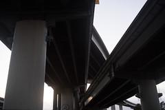 Rokkor35mm28_A7_AbandonedFreeway (85) (bad.moon) Tags: freeway minolta oakland rokkorx35mmf28 sonya7 traintracks urbanabandoned urbandecay