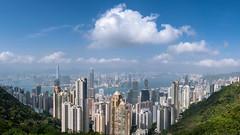 .urbanization. (snap.the.moment) Tags: sonya7r3 panorama a7riii hongkong landscape urbanization cityscape thepeak 28mm f2