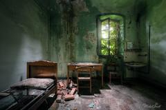 Green cabinet (Michal Seidl) Tags: abandoned hospital abbandonato sanatorium sanatorio ospedale opuštěná nemocnice hdr urbex infiltration italy canon decay