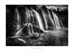 Waihi Falls - New Zealand (dominicscottphotography.com) Tags: dominicscott newzealand waterfall waterfalls waihi falls blackandwhite monotone longexposure leefilters ilce7r sel1635z hawkesbay dannevirke sony sonya7r