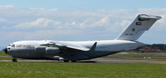 KAF342 (PrestwickAirportPhotography) Tags: egpk prestwick airport kuwait air force kaf c17 kaf342