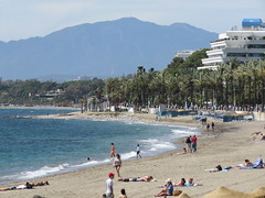 Marbella Beaches! ('cosmicgirl1960' NEW CANON CAMERA) Tags: marbella beach playa coast seaside spain espana andalusia costadelsol travel holidays yabbadabbadoo