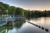Lac Kir à Dijon, le barrage. (Marc_L21) Tags: eau lac soir hdr lackir