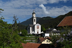 St. Stefan's (Guildfordian) Tags: switzerland tiefencastel spring albula parishchurchofststefan