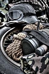 All the gear (Steve.T.) Tags: templeatwar cressingtemple reenactment templeatwar2018 helmet germanhelmet goggles worldwartworeenactment worldwartwo rope handgrenade cressing essex secondworldwar secondworldwarreenactment military militaria taw18