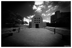 Ellsworth Kelly Austin (PEN-F_Fan) Tags: monochrome mirrorless microfourthirds monotone omd olympusomdem10ii northamerica mft infraredfilm filmlook fauxinfrared lens m43 mzuiko8mmf18pro style stone sky texas walkway unitedstatesofamerica type raw photoframe photoedge photoborder postprocessing processingsoftware primelens preset artist blackandwhite building art alienskin alienskinexposure architecture effect ellsworthkelly exposurex3 dxonikcollection camera clouds colorefexpro austin