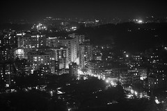 Chittagong At Night (N A Y E E M) Tags: city view landscape nightscape sky night light atmosphere availablelight building terrace 20thfloor restaurant mezetto radissonblu chittagong bangladesh handheld ramadan 1stday