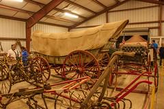 NC State Fair 2018 (81) (tommaync) Tags: ncstatefair2017 nc northcarolina statefair 2017 october nikon d40 raleigh antiques equipment old coveredwagon wagon wheels plows