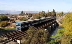 UT-440-104 | PUENTE PEUCO (AMOR A LOS RIELES |) Tags: metrotren trenes ut automotor