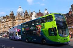 _MG_6575 (Yorkshire Pics) Tags: leeds 1905 19052018 19thmay 19thmay2018 bus1905 bus buses leedsmarket panorama buspanorama doubledecker doubledeckerbus newmarketstreet