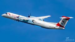 OE-LGA Austrian Airlines De Havilland Canada DHC-8-402Q Dash 8 (airliners.sk, o.z.) Tags: airport košice lzkz lzkzksc airplane bombardier dash dash8 q400 austrian airlines austrianairlines aua oelga airlinerssk