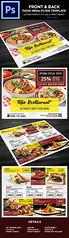 Restaurant Food Menu Flyer Template (Kijikai) Tags: arabianfood chinnesefood clean elegant fastfood flyer food foodmenu hotel hotelfood menu pizzamenu psd restaurant restaurantmenu trifoldbrochure trifolddesign trifoldmenu
