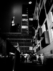 R0058878 (seba0815) Tags: ricohgrdiv grdiv grd frankfurt city night street architecture dark darkphotography light building monochrome blackwhite blackandwhite bw urban seba0815