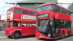 London transport RM1000 and London United LT1000 Brooklands 15/04/18. (Ledlon89) Tags: bus buses london transport londonbus londonbuses lt lte lptb vintagebuses brooklands londonbusmuseum weybridge londontransport