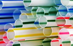 earth day (sure2talk) Tags: macromondays plastic earthday straws macro closeup stripes colours nikond7000 nikkor85mmf35gafsedvrmicro 118picturesin201841earthday