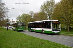 eat your greens (D Stazicker Photography) Tags: optare tempo connexions buses norfolk green