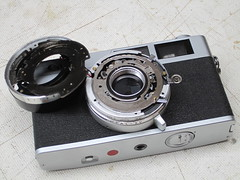 canonet ql19 (zaphad1) Tags: canonet ql19 ql 19 shutter timer repair aperture cleaning clean creative commons free photo