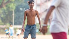 Mumbai-fb-25.jpg (Karl Becker Photography) Tags: india mumbai nikon football boy youngman shirtless sport